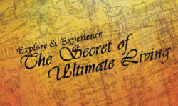 The Secret of Ultimate Living (1)